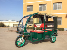 Green Electric three wheelers battery operated tricycle for passenger Mainbon Borac