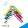 Most popular E cig evo-ii battery e cigeratte evo ii lowest price