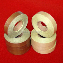 good quality high temperature bearing china waterproof ptfe coated fiberglass tape single-sided wiith Roths certificate