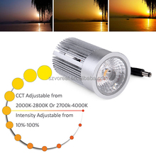 cct adjustable dimmable led downlight accessories 9W 13W LED retrofit lamps