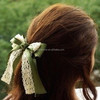 Hot sale beautiful color bow hair clip hair accessary from china