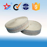51mm High pressure fire hose manufacturer,used pvc mixed rubber/synthetic rubber/pvc lined fire hose coupling