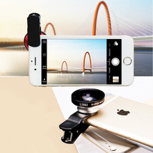 New red 0.4X Universal Selfie Lens super Wide Angle Lens for Mobile Phone pad Free Shipping