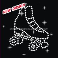 Beautiful rhinestone high heels shoes transfers design R 1 (99)