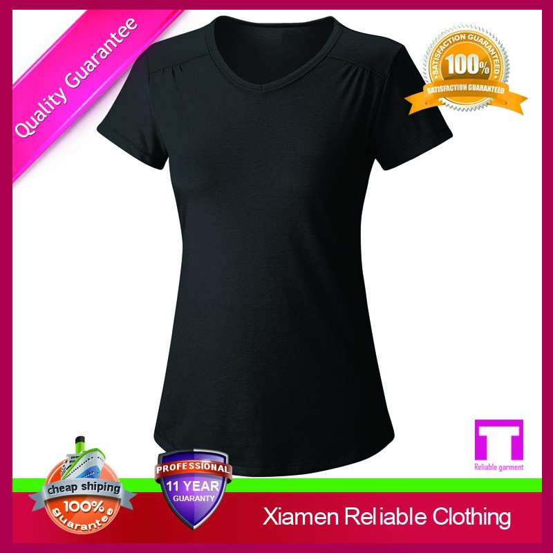 Custom hot sale quick dry anti shrink penny a line fitness for 100 cotton t shirts shrink