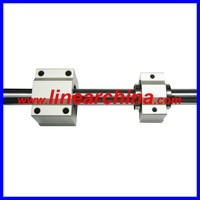 Linear motion system hollow shaft 50mm diameter chrome steel