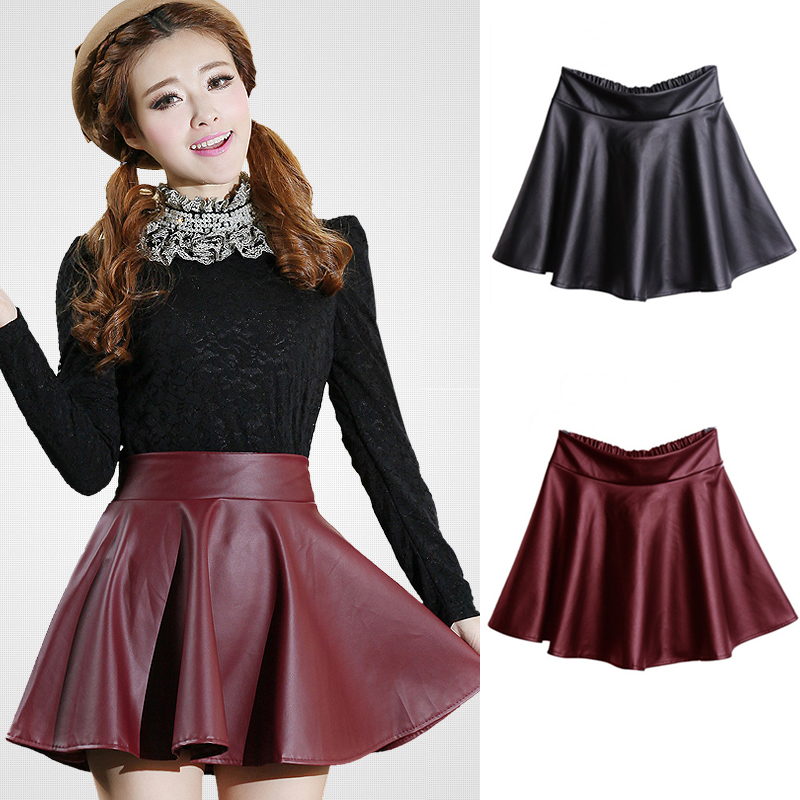 Leather skirts for 2015 – Modern skirts blog for you