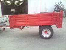 European style tractor trailer