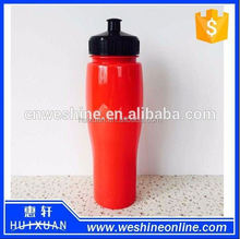 750ml pet water bottle with colorful cap,plastic bottle