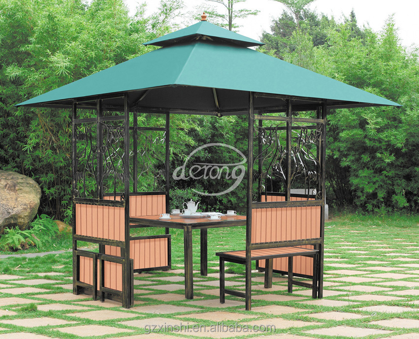 Modern Garden Gazebo : Modern Outdoor Iron Gazebo/ Patio Garden Iron Frame Gazebo - Buy ...