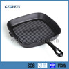 Hot sale cast Iron cookware pan with steak press