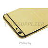 24k gold shiny original housing for iphone 6 orignal style 24k gold edition