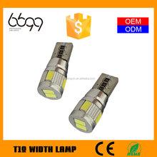 t10 led canbus 12v,t10 led canbus,t10 auto lamp 5630