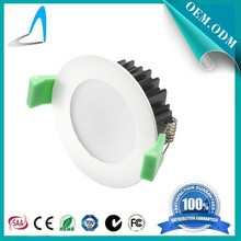 A-ONE LED globle market led downlight& 3 color in one fitting led downlight &white/silver/chrome finished led ceiling downlight