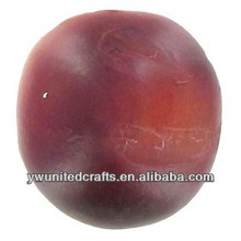 Hot!!!Artificial fruit fake plum sweet red plum lifelike