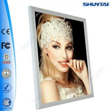 Guangzhou custom illuminated snap led light a2 picture frames