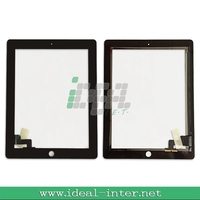 Part repair for Ipad 2 touch screen digitizer glass white/black