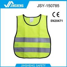 EN471 good quality fashion cute hi reflective small kids safety vest
