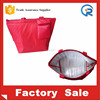 420D polyester/pvc reusable thermal insulated bag for food