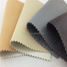 Wholesale pu synthetic automotive upholstery leather