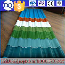 ISO Certification Silicon Steel Hot dip Prepainted heat proof roof sheet