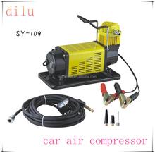 Portable 12v car air compressor, 72L/min air pump, 150 psi car tire inflator