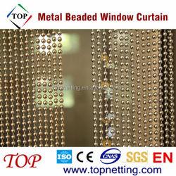 6mm Cool Metal Beaded Window Curtain