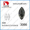 Horse eye crystal color sew on stones for wedding dress decoration