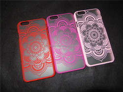 2015 hot selling the court flower mobile phone case for iphone 4g,5g, 6g ,6g plus,cell phone case