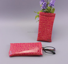 wholesale printed pvc bag of eyeglasses pouch