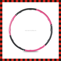 Plástico luz profissional de fitness barato atacado hula hoop fabricante