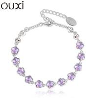 2015 Lady girls friendship bracelets made with Swarovski Elements Jewelry OUXI-30232