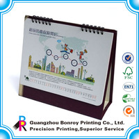 2014 printable paper desk calendars in different shapes