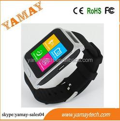 smart bracelet 2015 touch screen calculator watch 1.5inch GSM smart watch phone