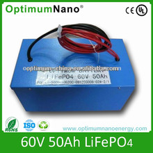 lithium li-ion 60v 50ah LiFePO4 battery pack 60V50AH Durable Passenger Use Powerful Electric Tricycle
