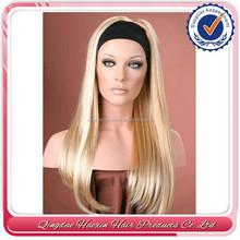Hot Beauty #613 20 inch brazilian human hair band fall wig