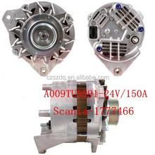 Alternator 1536236 A009TU5591(24V 150A) for SCANIA BUS