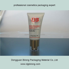 30g Plastic Material and Offset Printing Surface Handling 25mm cosmetic containers with pump head