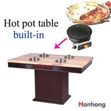 Kitchen equipment pot Burner hot pot table restaurant