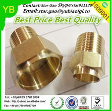 China Custom Industrial Parts Manufacturer, Brass CNC Machining Components