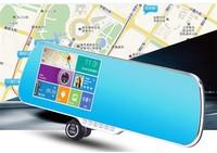 5inch Android 4.1 wireless wifi GPS car rear view mirror, car rear view mirror monitor hd