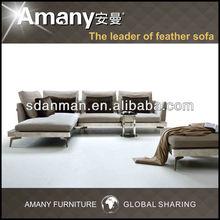 2014 new design Anman living room blending fabric sofa(A9777)
