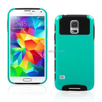 Hybrid Rubber Rugged Combo Matte Soft Cases Hard Cover For Samsung Galaxy S5 i9600