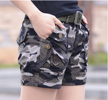 ladies camouflage shorts womens workout shorts ladies cotton shorts