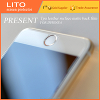 Best selling!! cell phone protective film for iPhone 6