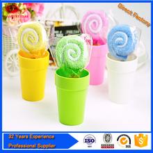 cute lollipop towel wholesale cheap