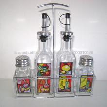 botella de vidrio de especias al por mayor