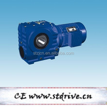 STdrive brand S87 series helical worm reduction gearbox with 3phase 1.5HP AC motor unit