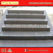 grey portátil escadas escadas de granito pedra