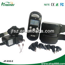 pet agility products, training dog collar JF032-2 with LCD display for 2 dogs